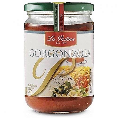 Molho Tomate E Gorgonzola La Pastina 320gr