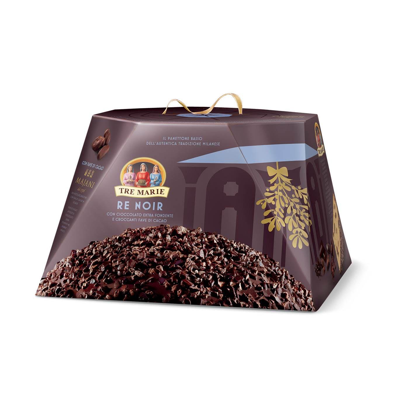 Panetone Milanese Chocolate Re Noir Tre Marie 900gr