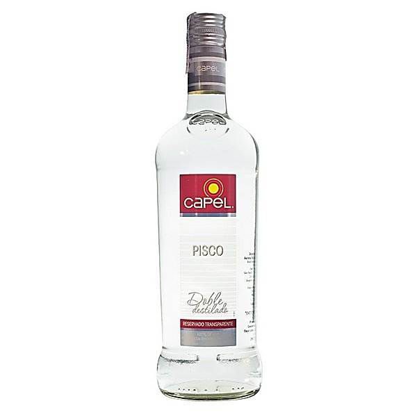 Pisco Capel Reservado Transparente 750ml
