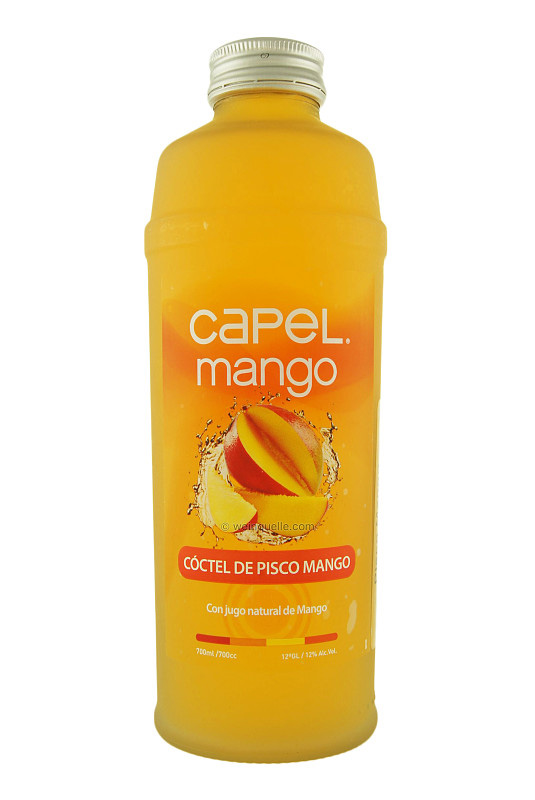 Pisco Mango Capel 700ml