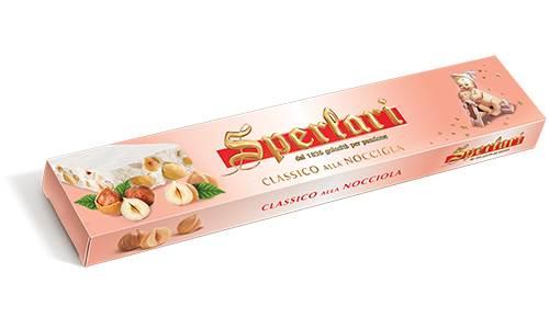 Torrone Italiano Classico de Avelã Sperlari 150gr