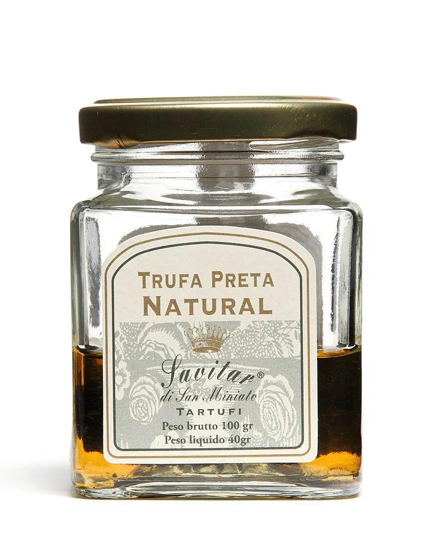 Trufa Negra Ao Natural Savitar 100gr