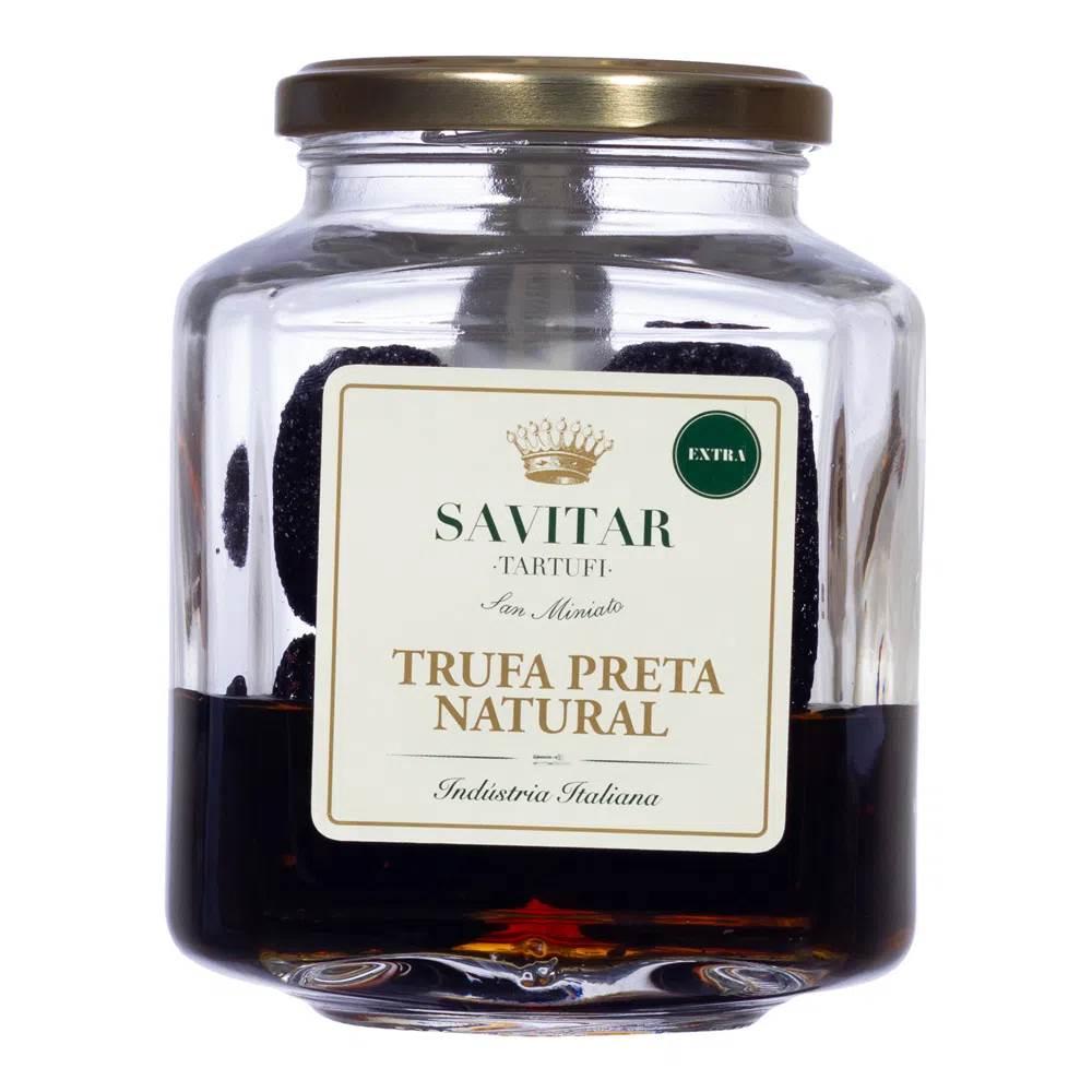 Trufa Preta Inteira Ao Natural Savitar 200/300gr