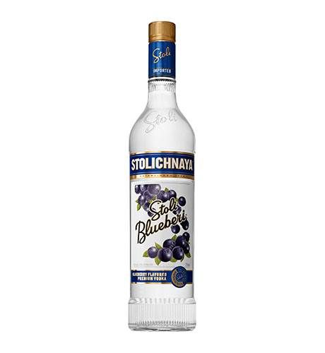 Vodka Stoli Blueberi Stolichnaya 750ml
