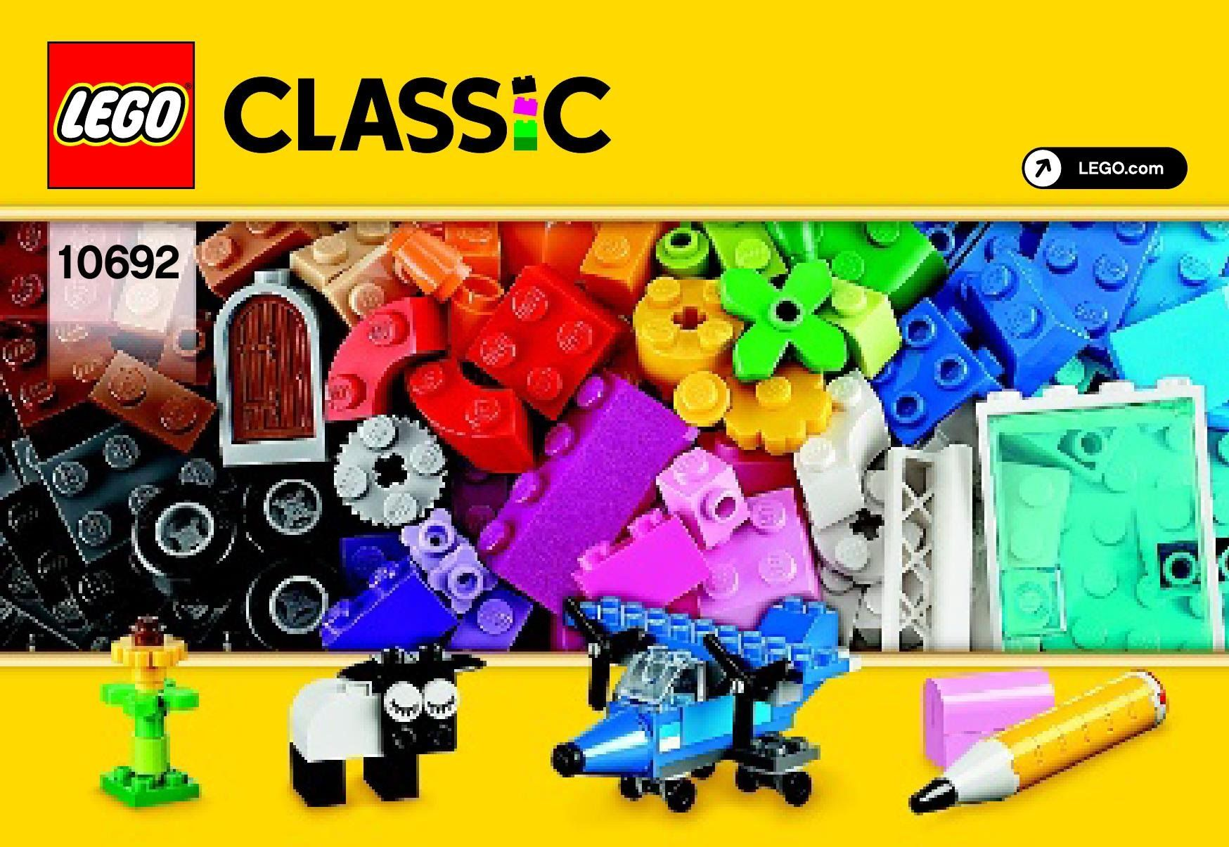 LEGO Classic Peças Criativas 221 Peças 10692