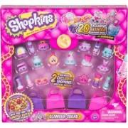 Mega Kit 20 Mini Figuras Sortidas +4 sacolinhas Shopkins DTC