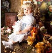 Bebe Reborn Menina 55 Cm Adora Doll Loira