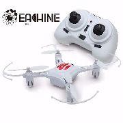 Mini Drone Quadricóptero H8 Branco 3 Baterias