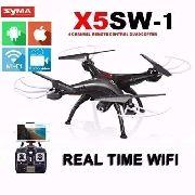 Quadricoptero Drone Syma X5sw-1 Fpv 5 Baterias E Brindes