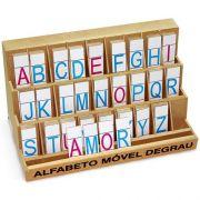 Alfabeto Movel Degrau Em Mdf 130pcs 1204 Carlu