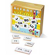 Alfabeto Silábico 150 Peças Carlu Brinquedos Educativos
