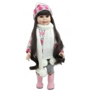 American Doll Kate Menina 45 cm Vinil Siliconado - Sob Encomenda