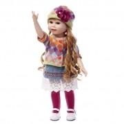 American Doll Rebecca Menina 45 cm Vinil Siliconado - Sob Encomenda