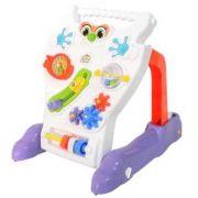 Andador Feliz Infantil Bebê Brinquedo Didático Calesita