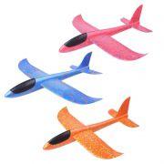 Avião Planador Aeromodelo Arremesso Manual Espuma 30cm