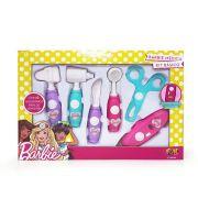 Barbie Kit Médica com 6 Instrumentos  Fun Divirta-Se