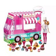 Barbie Massinha Food Truck Sorvetes E Delícias Divertida