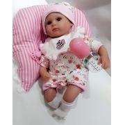 Bebe Reborn Boneca Reborn Júlia 35cm