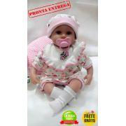 Bebe Reborn Boneca Reborn Júlia 40 cm