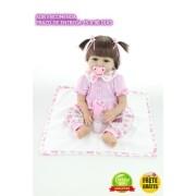 Bebê Reborn Realista 55 Cm - Sob Encomenda