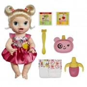 Boneca Baby Alive Hora De Comer Loira A7022 Hasbro