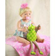 Boneca Bebe bebê Reborn Menina Priscila