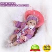 Boneca Bebê Reborn Nathy - Sob Encomenda