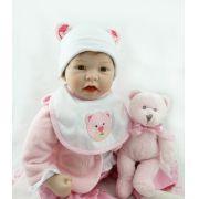 Boneca Bebê Reborn Penélope 45cm