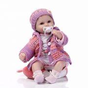 Boneca Bebê Reborn Nathy