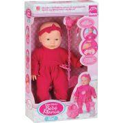 Boneca New Mini Bebê Mania Xixi 5340 Branca Roma
