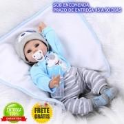Boneco Bebê Reborn Menino Arthur - Sob Encomenda