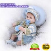 Boneco Bebê Reborn Menino Samuel - Sob Encomenda