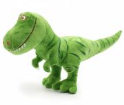 Dinossauro Pelúcia Tiranossauro Rex TRex T-Rex Verde 40 cm