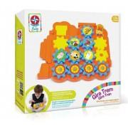 Brinquedo de Atividade Gira Trem Estrela Baby
