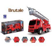 Caminhão De Bombeiro Brutale Roma Brinquedos Solta Água