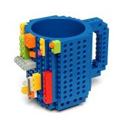 Caneca Compatível Compatível Lego 12 Cm com Peças