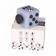Fidget Cube Cubo Anti Stress Hiperatividade Ansiedade Branco