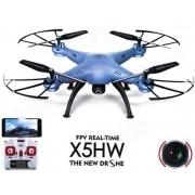Drone Syma X5hw-1 Azul Fpv X5sw 5 baterias