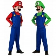 Fantasia Infantil  Super Mario Ou Luigi Cosplay