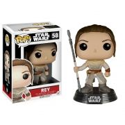 Funko Pop Star Wars Episódio VII 7 Rey #58