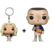 Funko Pop Stranger Things Eleven With Eggos e Chaveiro