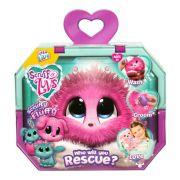 Fur Balls Pets Adotados Surpresa Rosa Fun Divirta-se