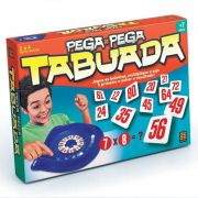 Jogo Tabuleiro Pega Pega Tabuada Original Grow