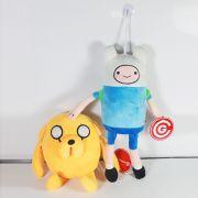 Kit de pelúcia Adventure Time Hora da Aventura Jake e Finn