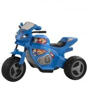 Moto Elétrica Infantil 6v Moto Max Turbo 1330L Magic Toys Azul