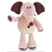 Pelúcia Elefante Baby Marrom Cortex