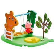 Peppa Pig Hora De Brincar Balanço Dtc Playset 4205