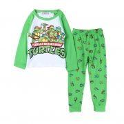 Pijama Infantil Menino Tartarugas Ninjas TMNT