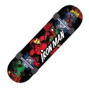 Skate Marvel DCT Homem de Ferro Homem Aranha Avanger 3062