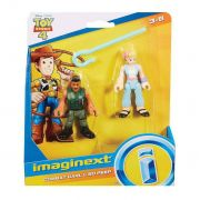 Toy Story 4 Combate Carl E Bo Peep Imaginext Gbg89